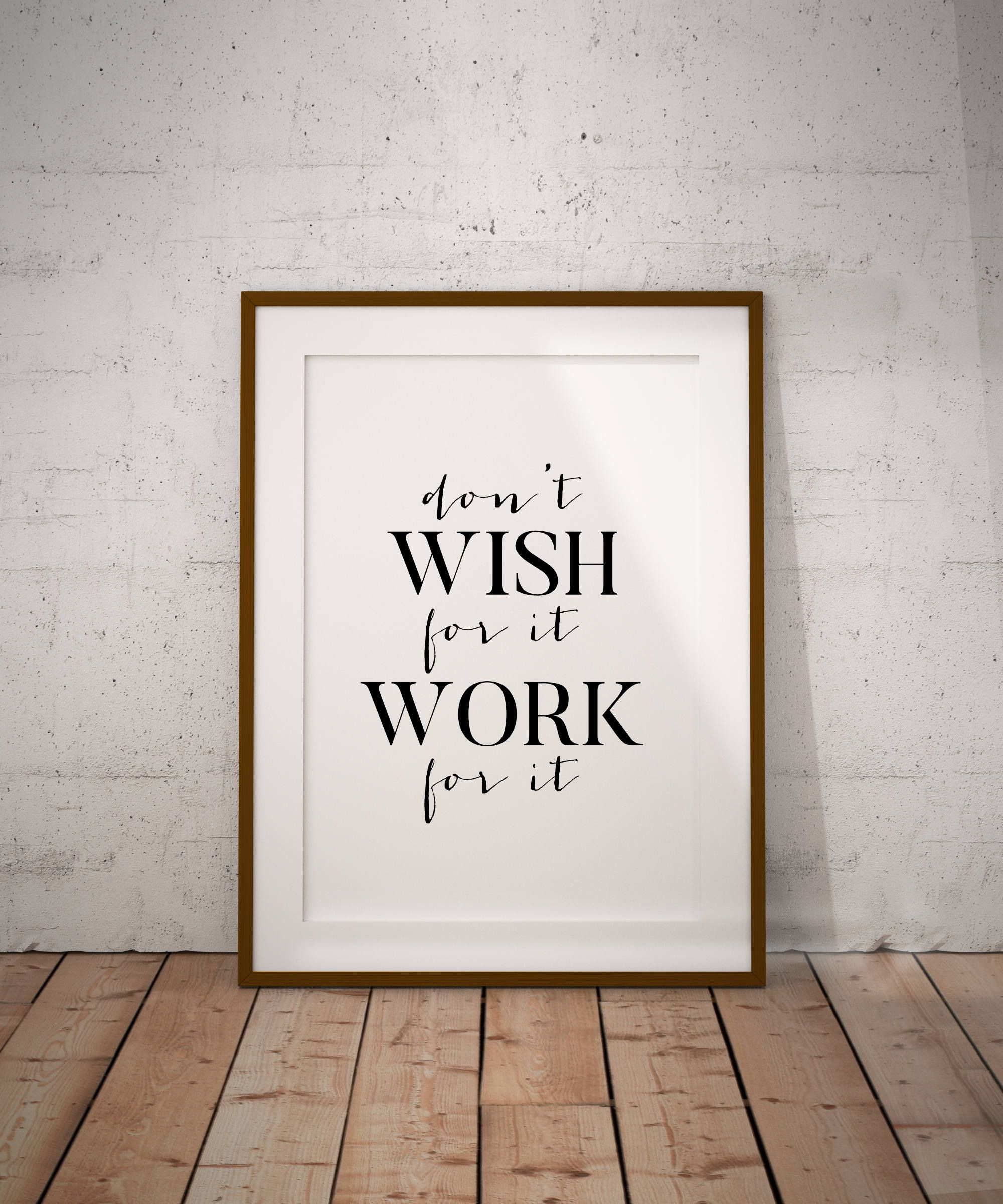Just launched donut wish for it work for it printable wall art