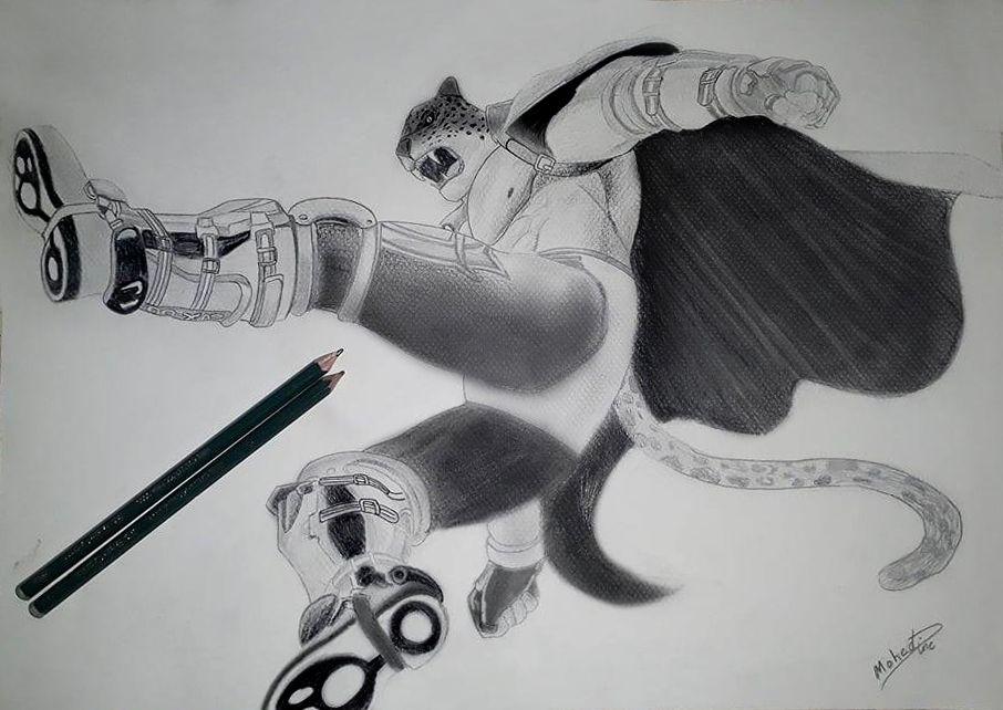 Tekken 7 King Art Redrawed King Art My Drawings Art