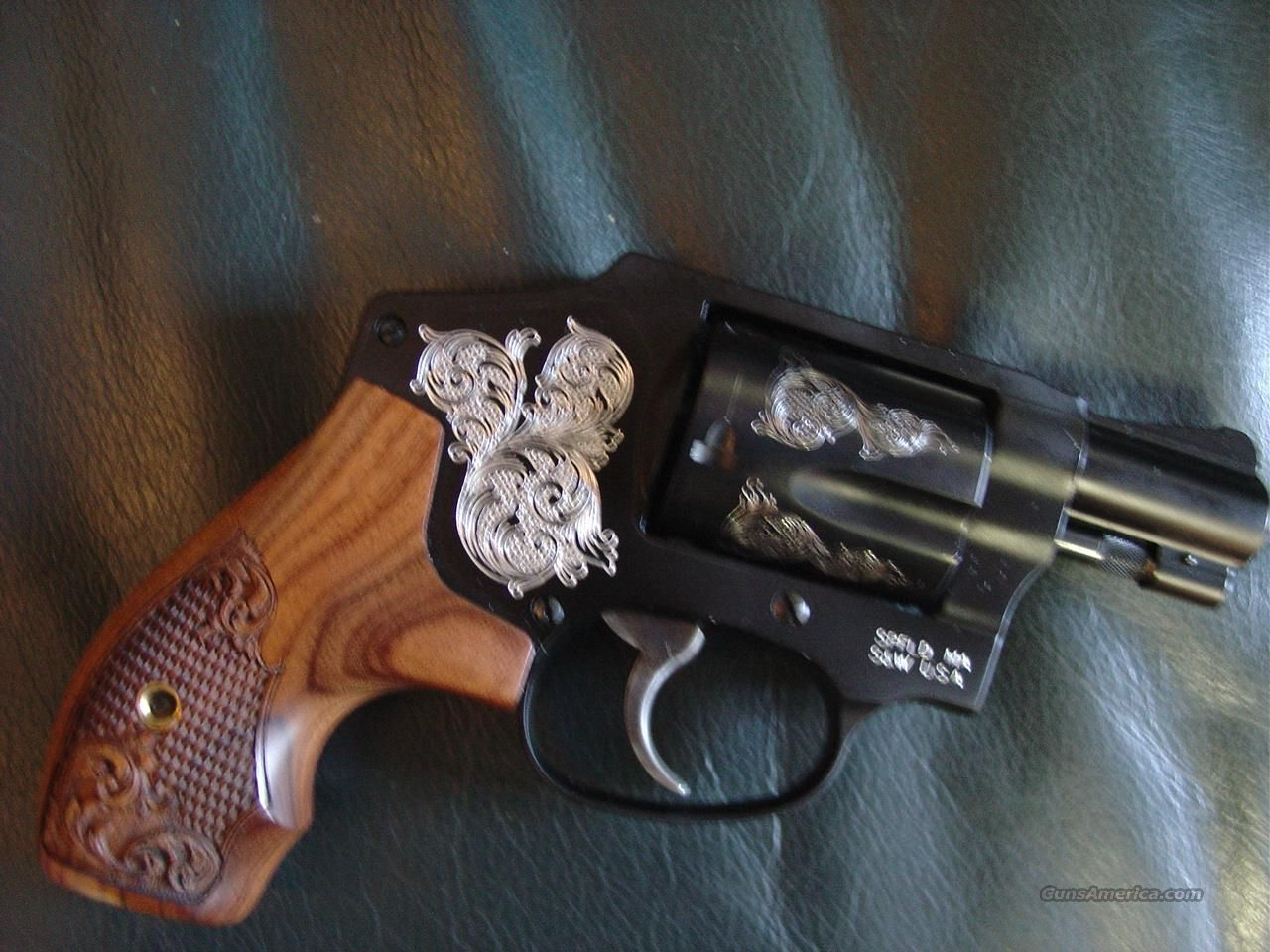 Smith & Wesson Model 442,Limited Engraved edition,38 special +P