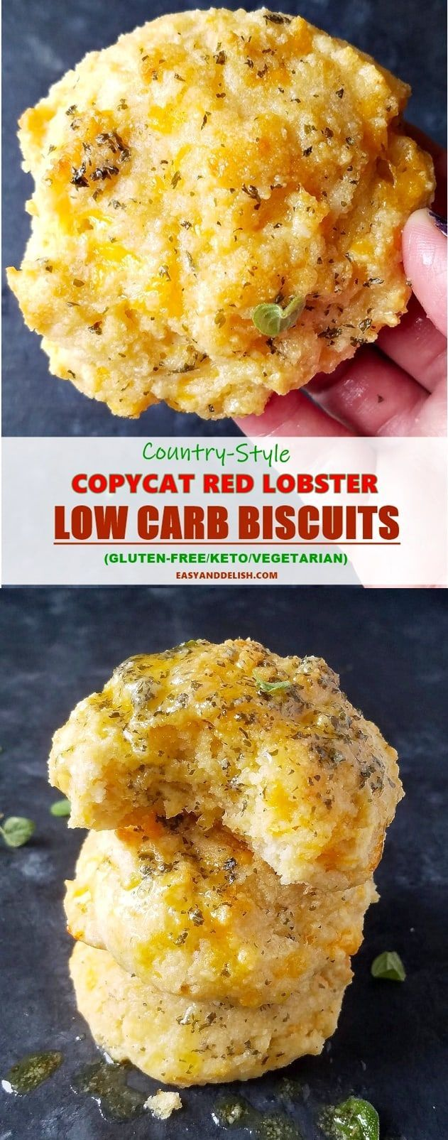 Copycat Red Lobster Low Carb Biscuits