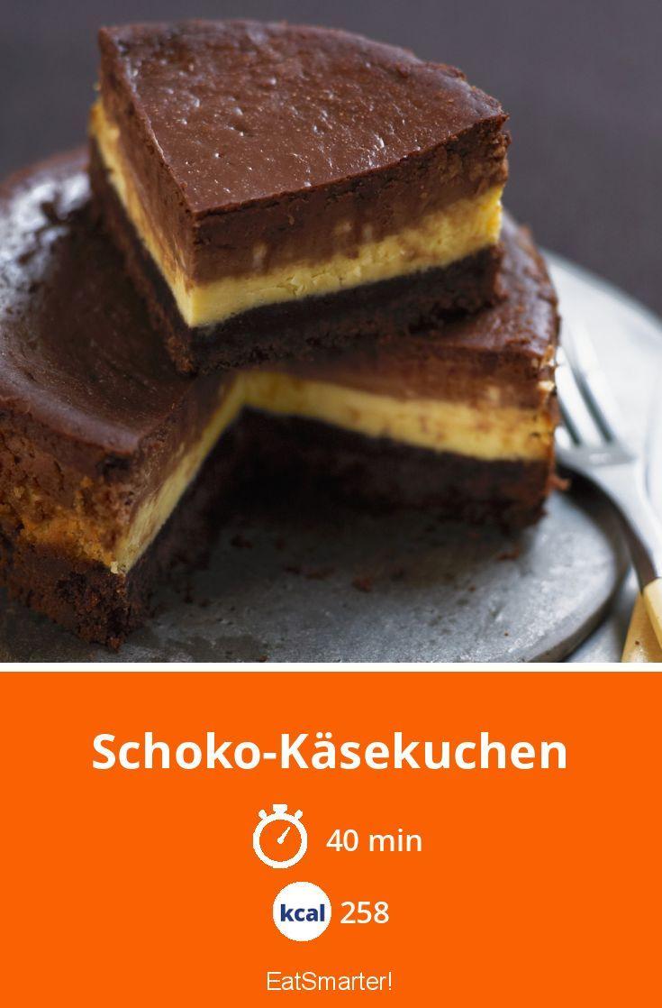 SchokoKäsekuchen Rezept in 2020 Schoko käsekuchen