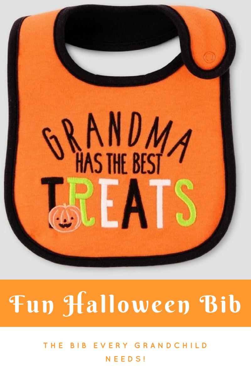 fun baby halloween bib grandma has the best treats ad halloween