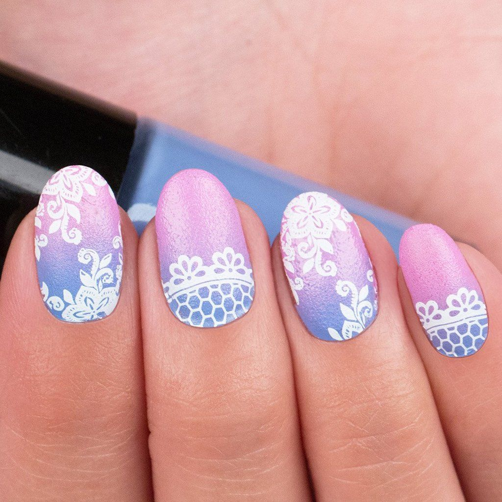 Floral Fame Deluxe Nail Stamping Kit Series | Deluxe nails and Manicure