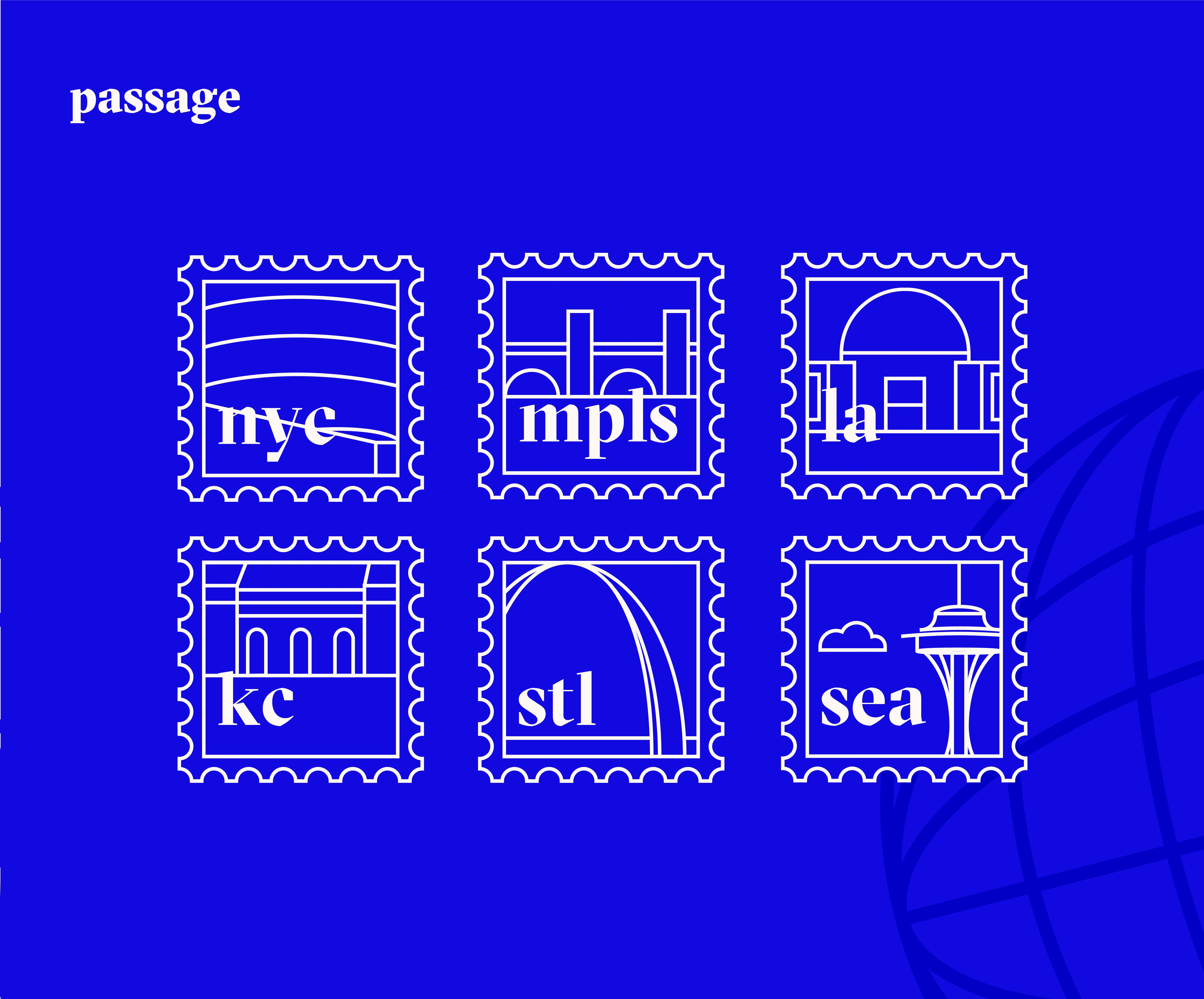 Check out my behance project passage travel app https