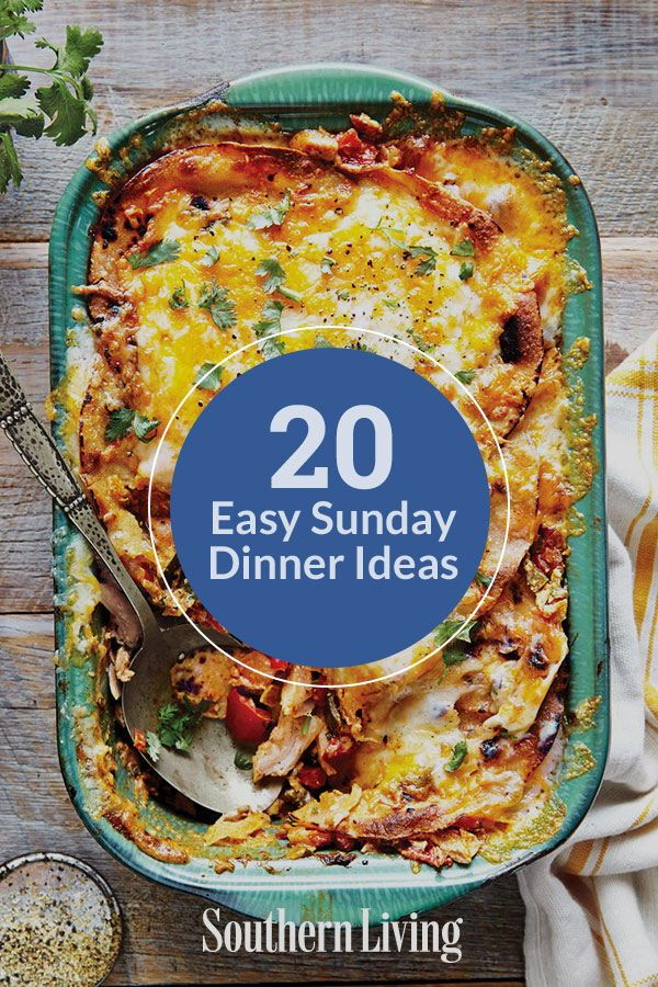 20 Sunday Dinner Ideas With Easy Recipes images