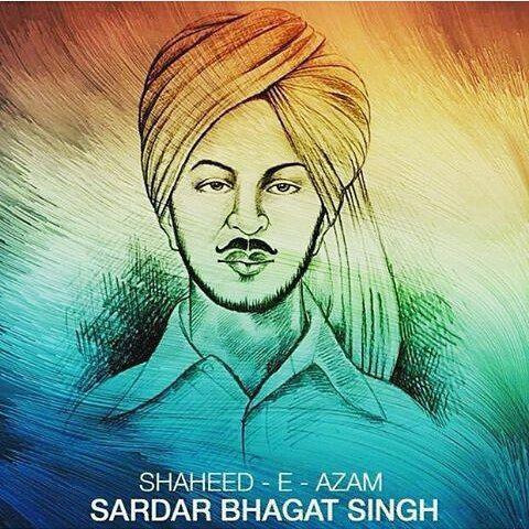 Bhagat Singh Drawing Bhagat Singh Bhagat Singh Wallpapers Fan