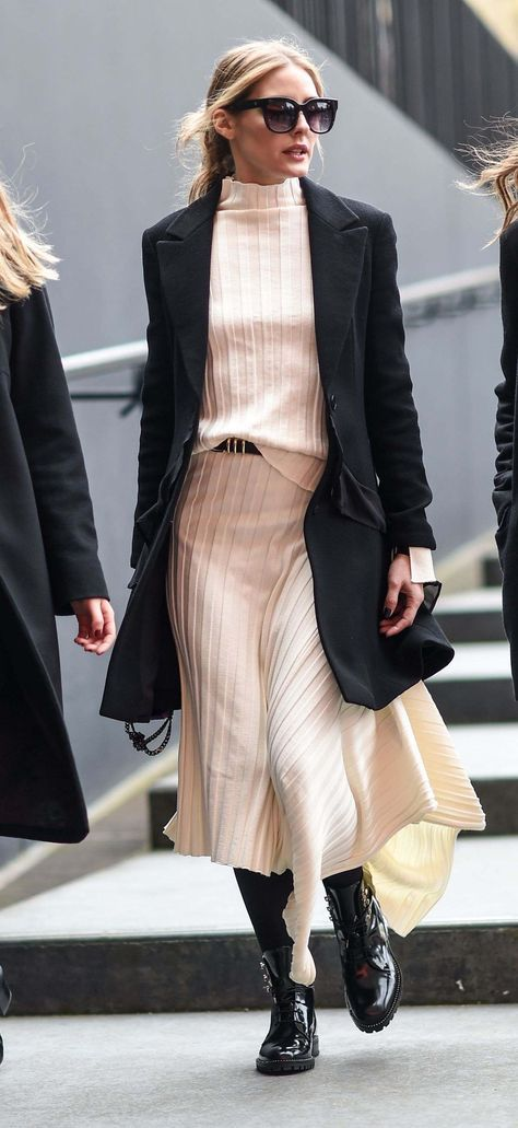 Olivia Palermo Out And About In London - February 18, 2017