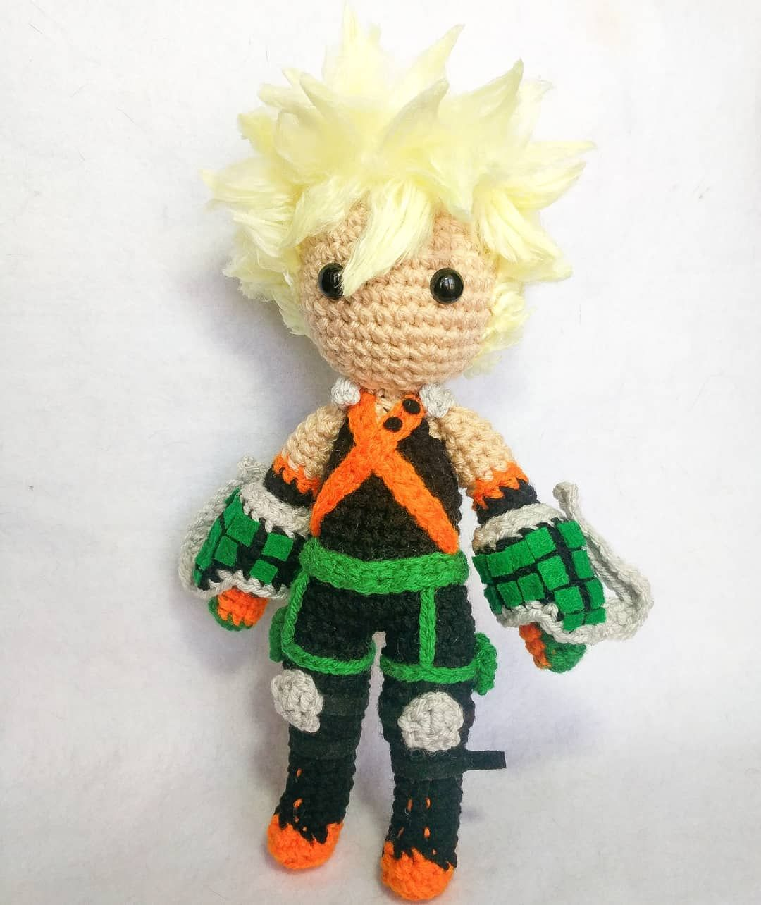 Amigurumi Crochet Anime Doll Tutorial Pattern Petite by Sylemn ... | 1284x1080