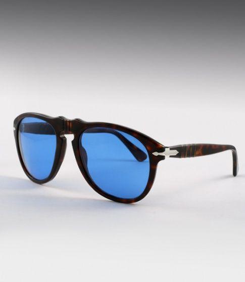35cc640389d7c Persol 649S custom - Tortoise   Custom Blue