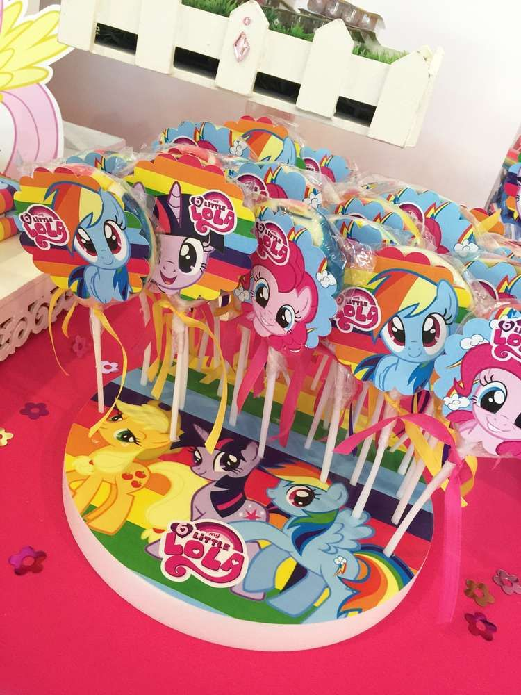 My Little Pony Birthday Party Candy See More Party Ideas At