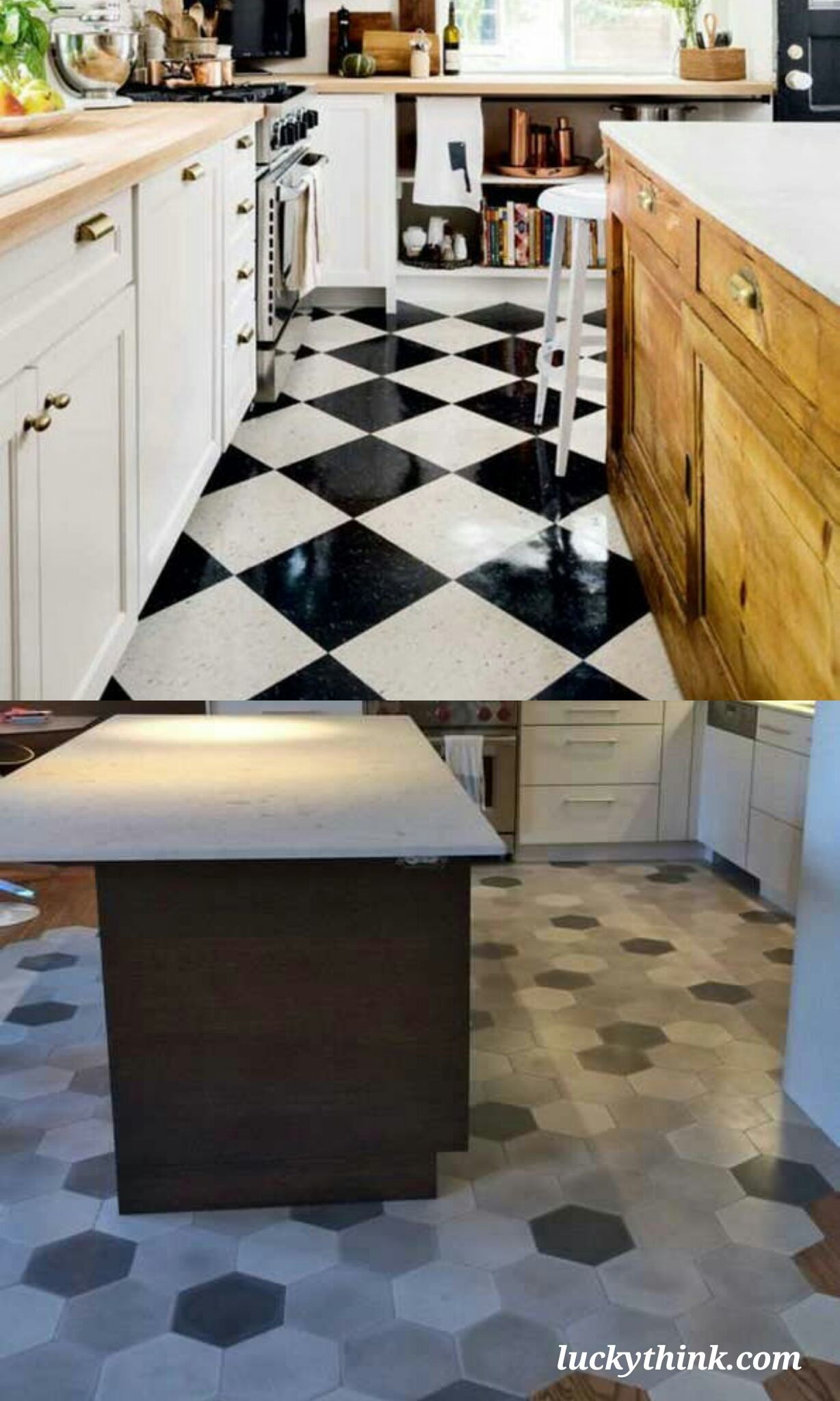 Some Examples of Modern and Traditional Kitchen Floor Ideas ...
