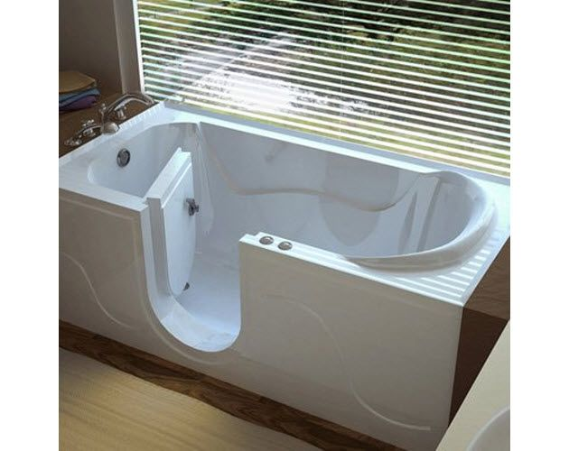 Walk In Bathtub With Door For Seniors | WhereIBuyIt.com
