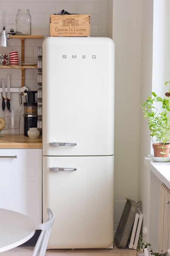 white refrigerator in kitchen. thin fridge · apartment size refrigeratorwhite refrigeratorvintage refrigeratorkitchen white refrigerator in kitchen