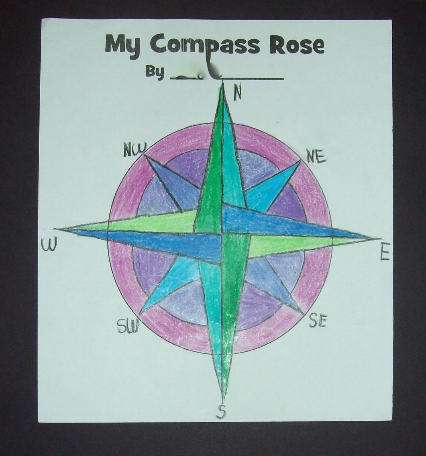 Compass Rose By Yearn To Learn