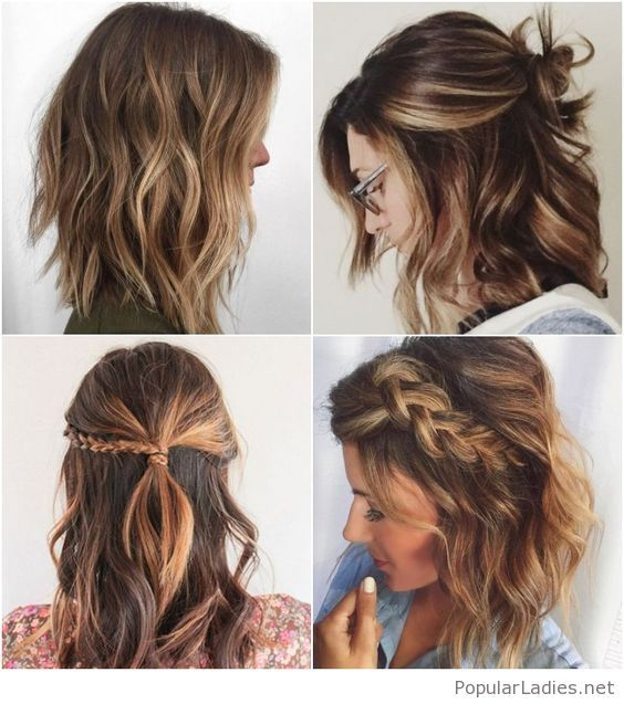 Amazing and inspirational hairstyles for curly short hair in