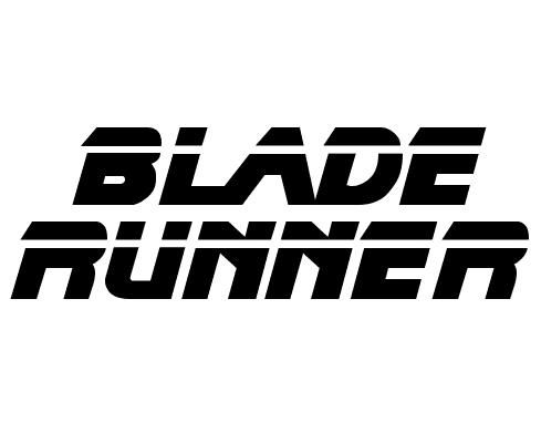 Image result for blade runner logo