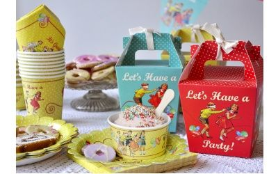 Six £50 Dotcomgiftshop Vintage Party bundles to be won at What's On TV.co.uk. Closes 27th May 2012