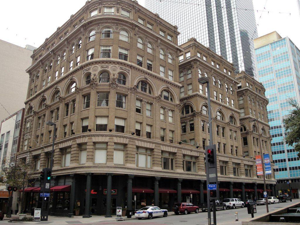 Historic downtown dallas tx filewilson building dallas