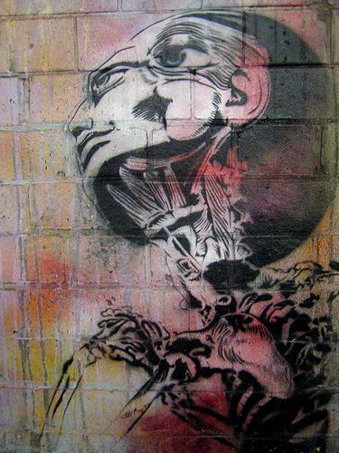 'this will mess with your head' by Sadhu  #anatomy #streetart