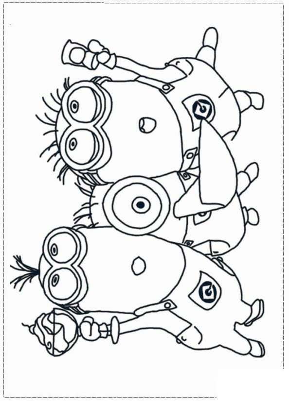Print Minions 15 Kleurplaat Coloring Pages Pinterest Coloring