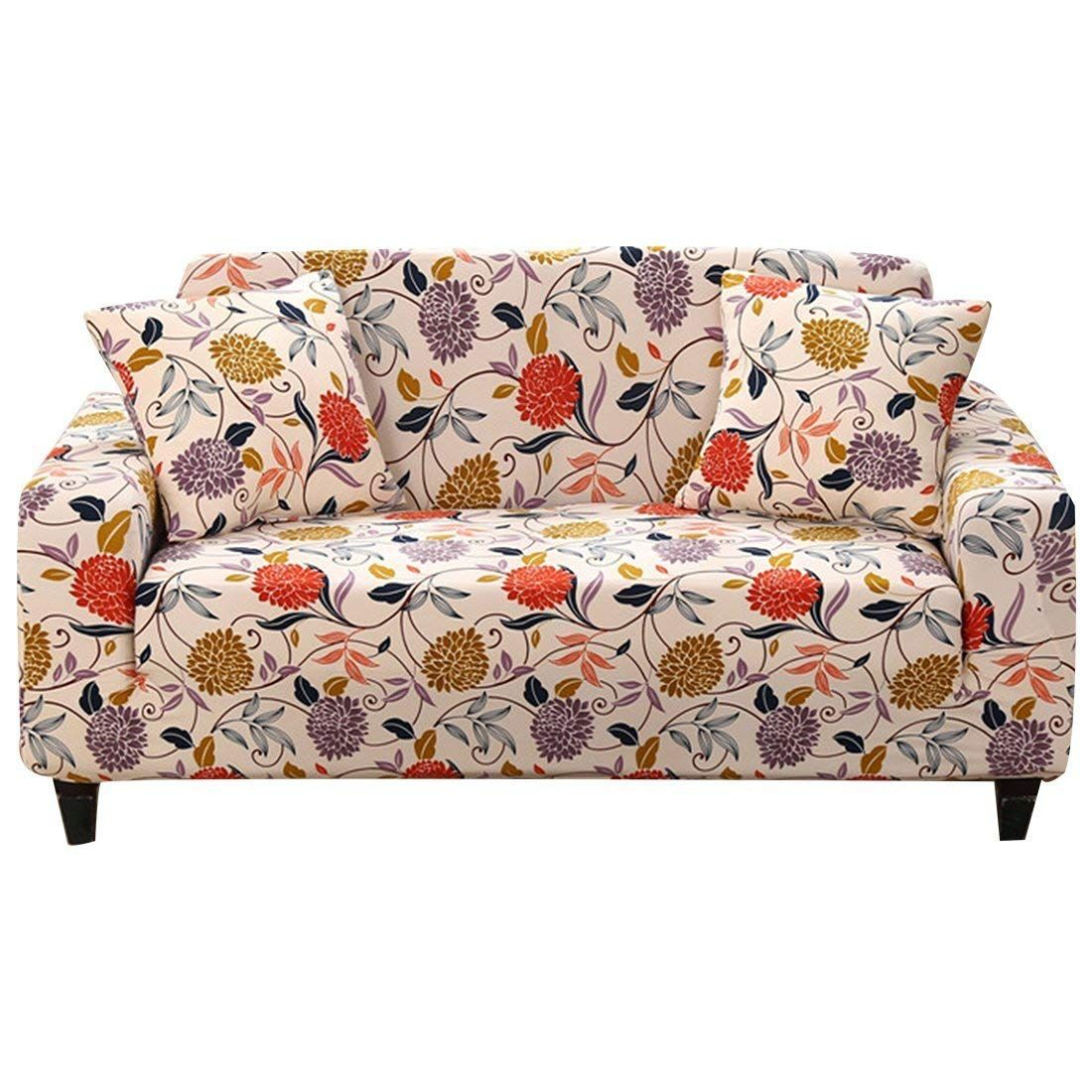 Amazon Com Forcheer Stretch Couch Covers Sofa Slipcovers Fitted Loveseat Cover Seat Furniture Prote Living Room Furniture Trends Couch Covers Slipcovered Sofa