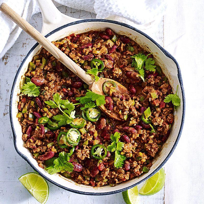 Quick Chilli Con Carne Recipe Food Recipes Chilli Con Ww Recipes