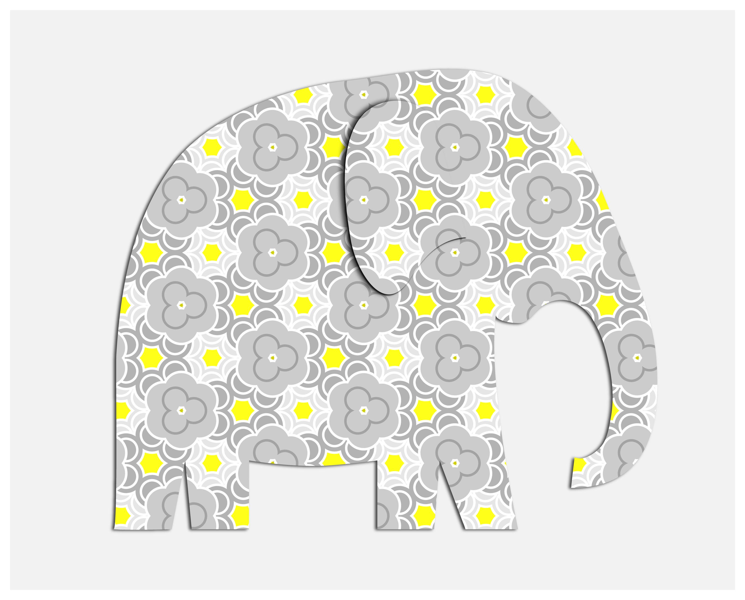 Free Printable Elephant