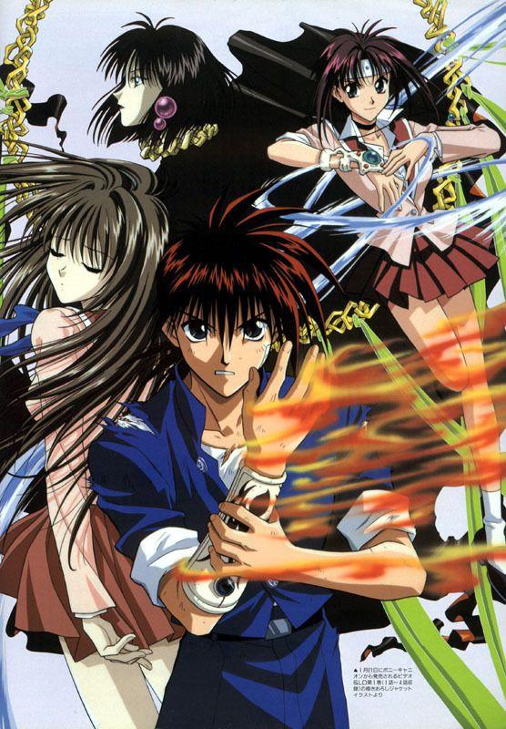 Flame Of Recca Photo Flame Of Recca Flame Of Recca Anime Life Anime Fandom