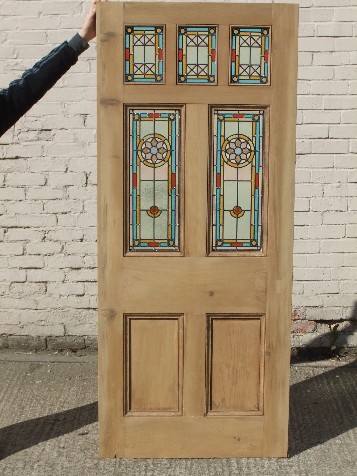 New Victorian Edwardian front door good look