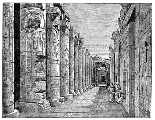 Ancient Egyptian Temples - Temple of Abydos