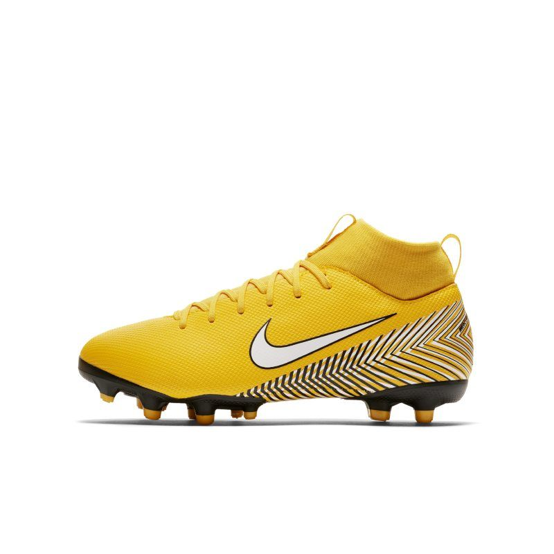 new products 0154a 53c4b Nike Jr. Mercurial Superfly VI Academy Neymar Jr. Younger Older  Kids Multi-Ground Football Boot - Yellow