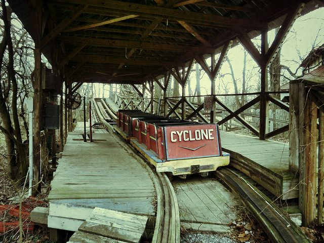 abandoned roller coasters | Recent Photos The Commons Getty Collection Galleries World Map App ...