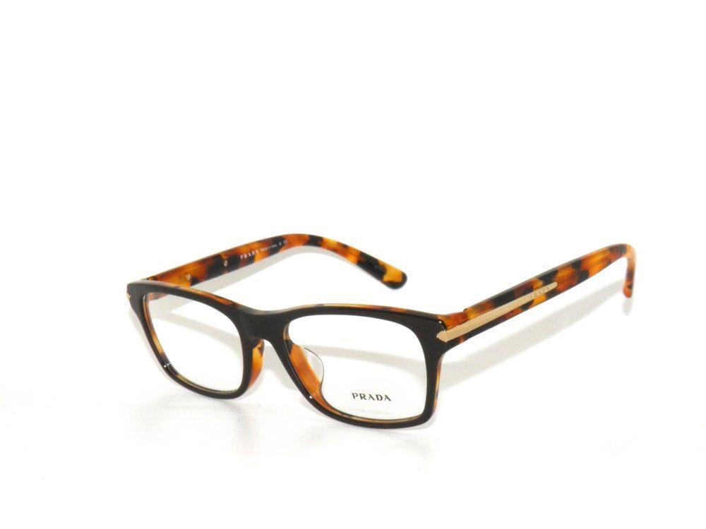 74d5e5952264 ... where to buy prada 16s f 16 ubs 1o1 54 top brown on havana eyeglasses  sale