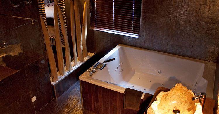La Suite Lodge propose une décoration typique du0027Afrique du Sud dans