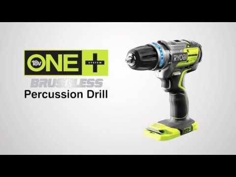 Ryobi R18PDBL-0 One+ 18V Brushless Percussion Drill  See the