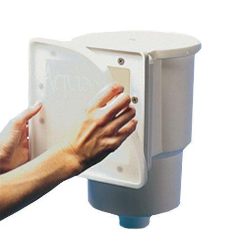 the aquador skimmer plate fits standard above ground. Black Bedroom Furniture Sets. Home Design Ideas