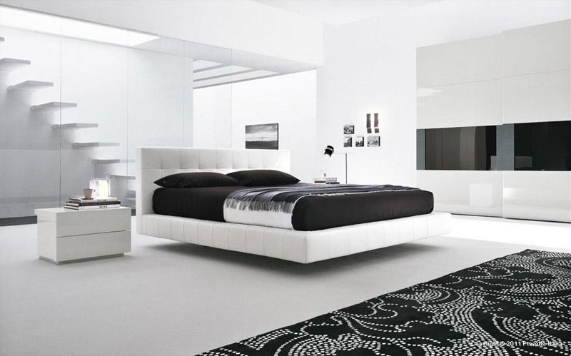 image result for black and white interior design bedroom - Black And White Interior Design Bedroom