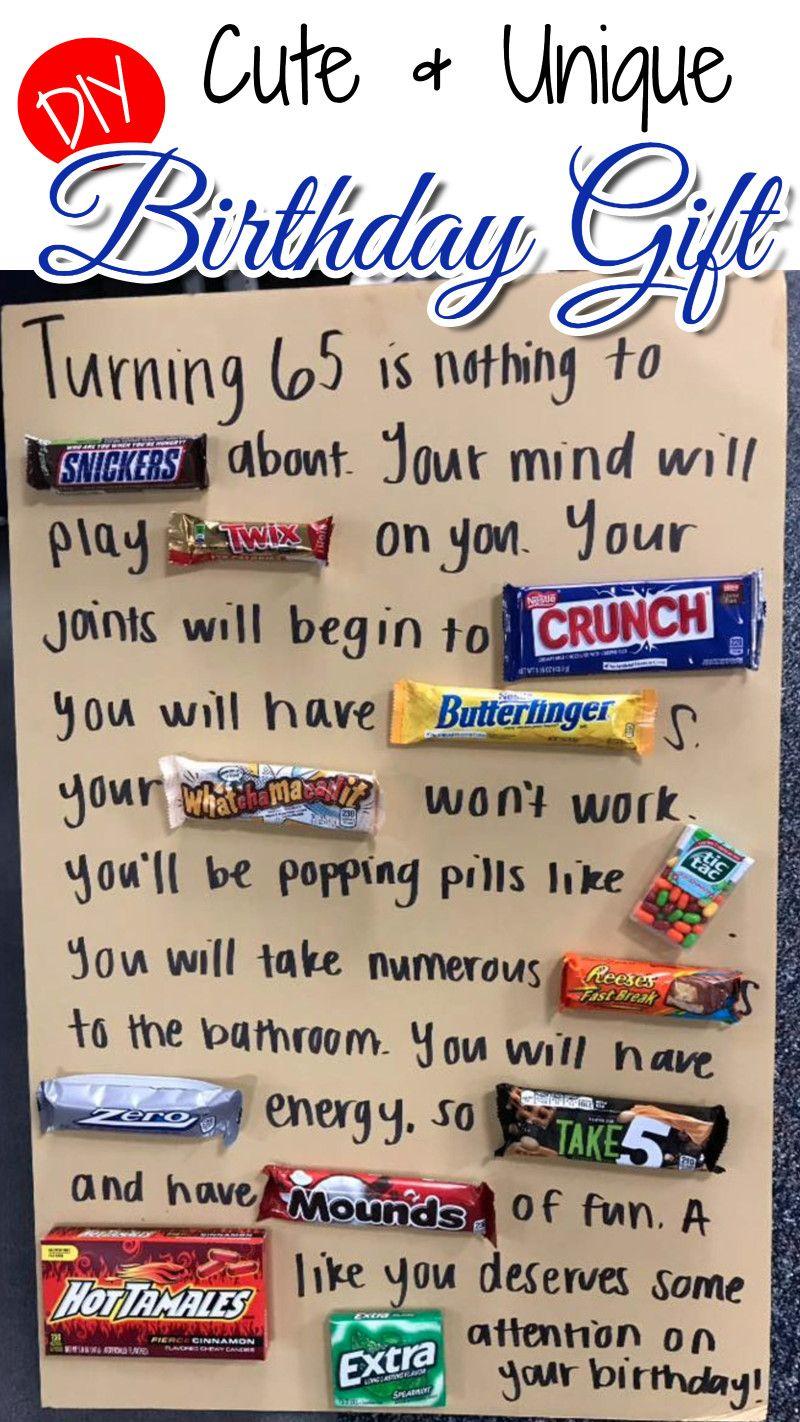 Cute u easy diy birthday gift idea cute ideas pinterest