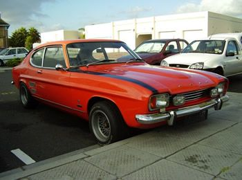 Capri Mk1 Pre Facelift Bumper Overriders With Images Ford