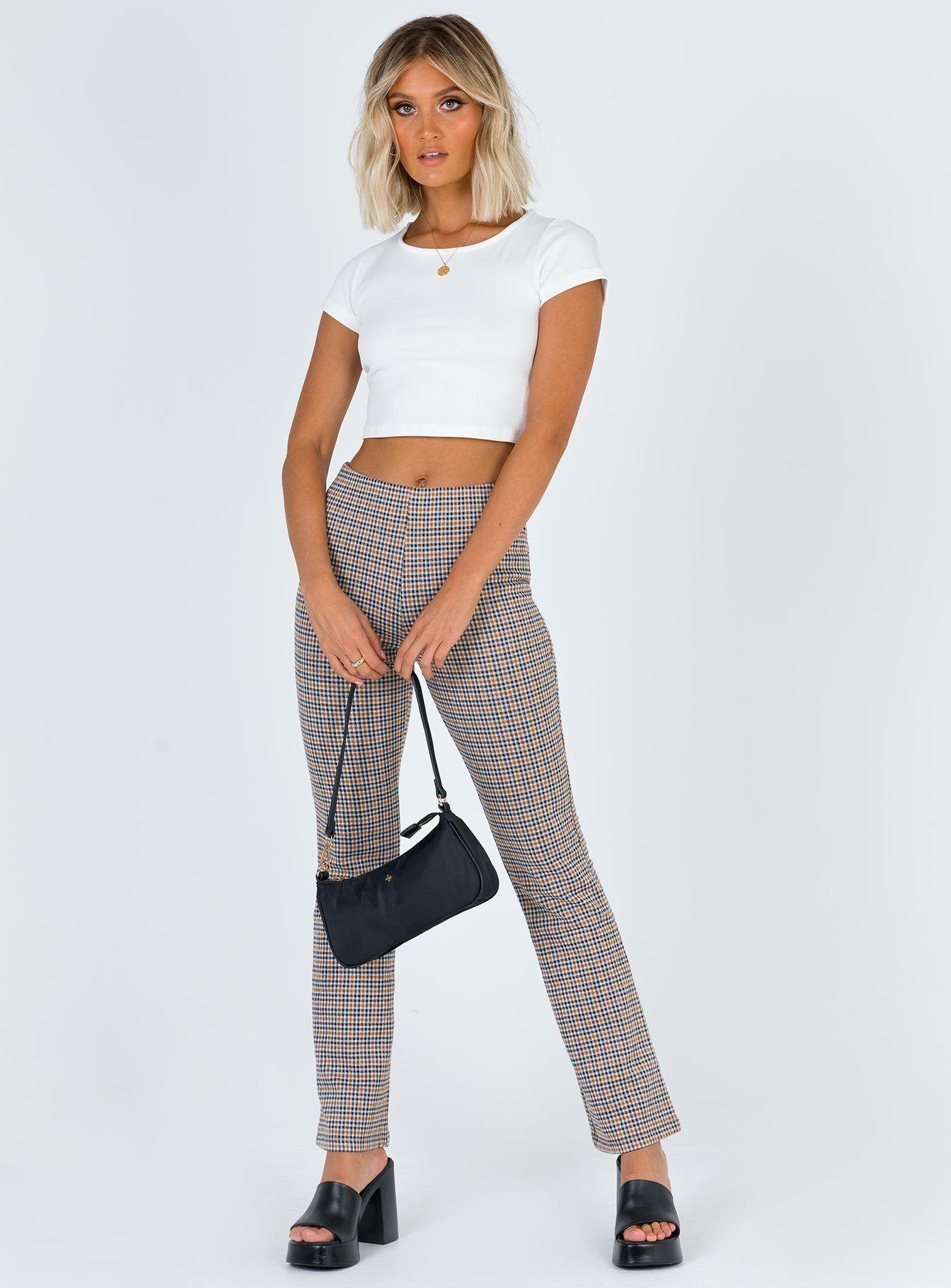 Franky Pant US 0 / Multi Pants, High waisted pants