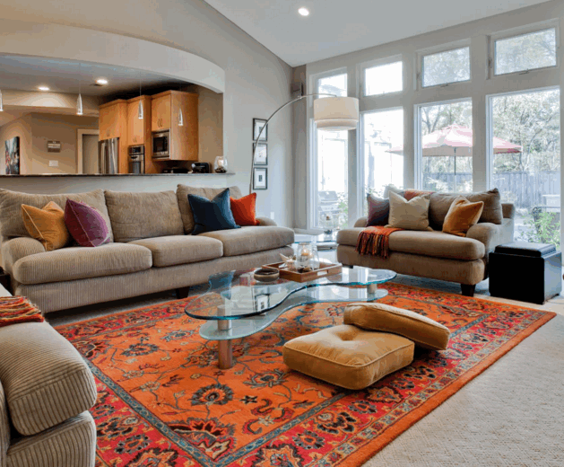 Is It Okay To Put An Area Rug On Carpet Rug Over Carpet