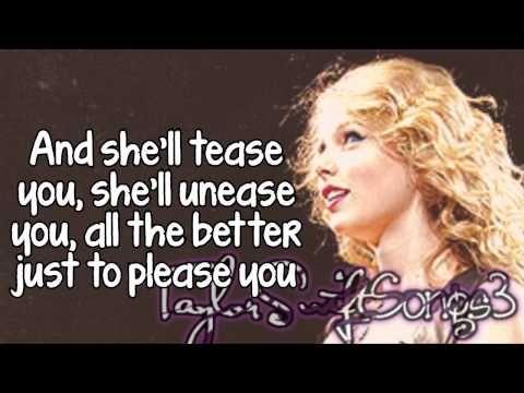 Bette Davis Eyes Live Taylor Swift Lyrics Bette Davis Eyes Taylor Swift Lyrics Taylor Swift Speak Now