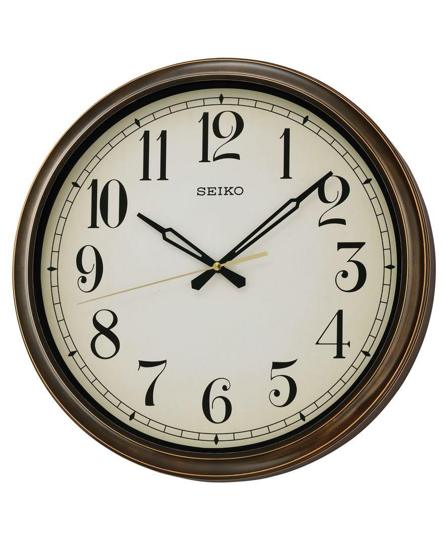 Seiko Outdoor Wall Clock Qxa548blh Med Billeder