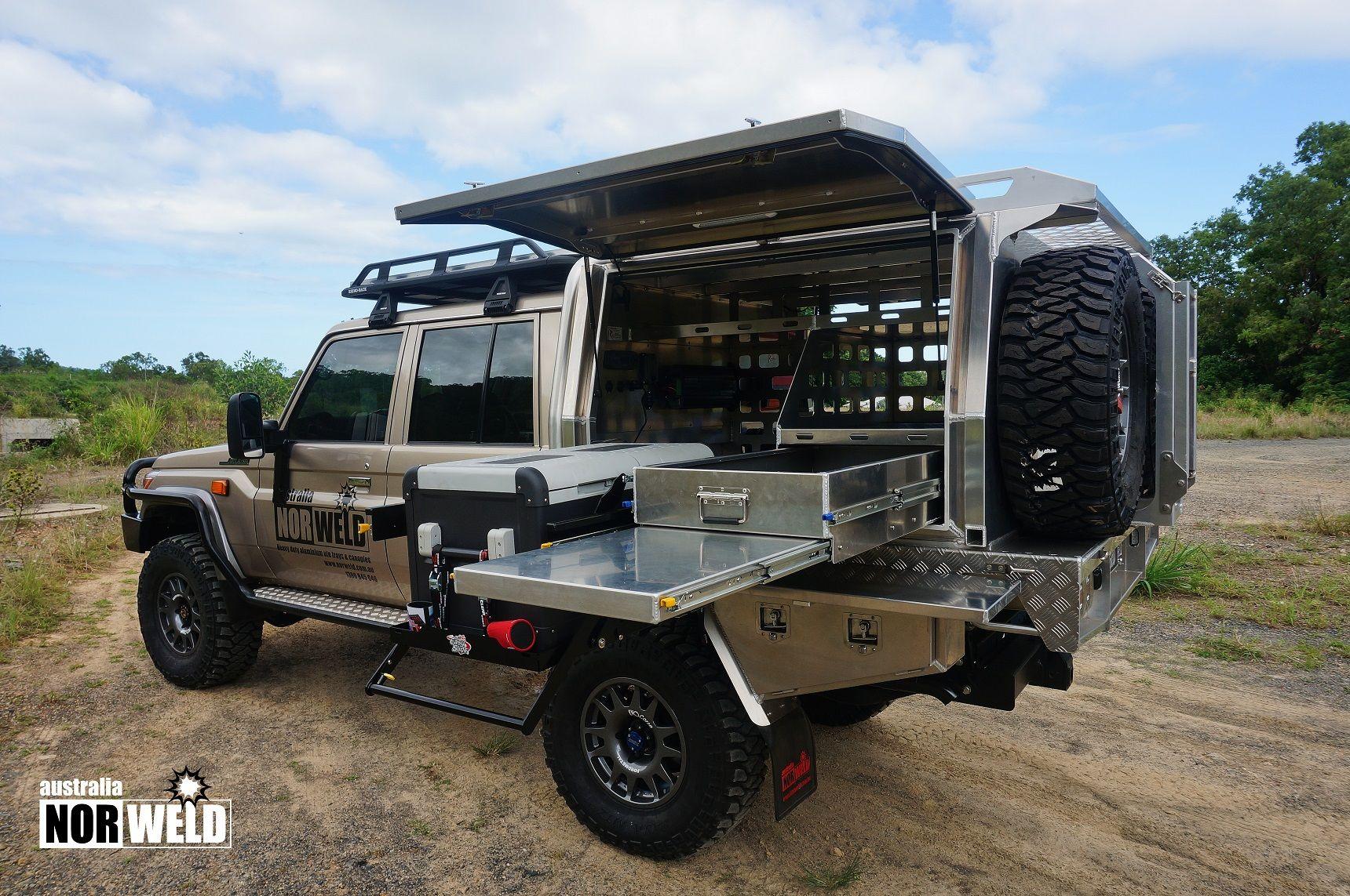 Toyota Landcruiser Aluminium Canopy Camping