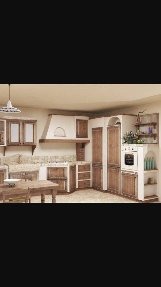 Cucina muratura | cucina muratura | Pinterest | Neubau und Küche