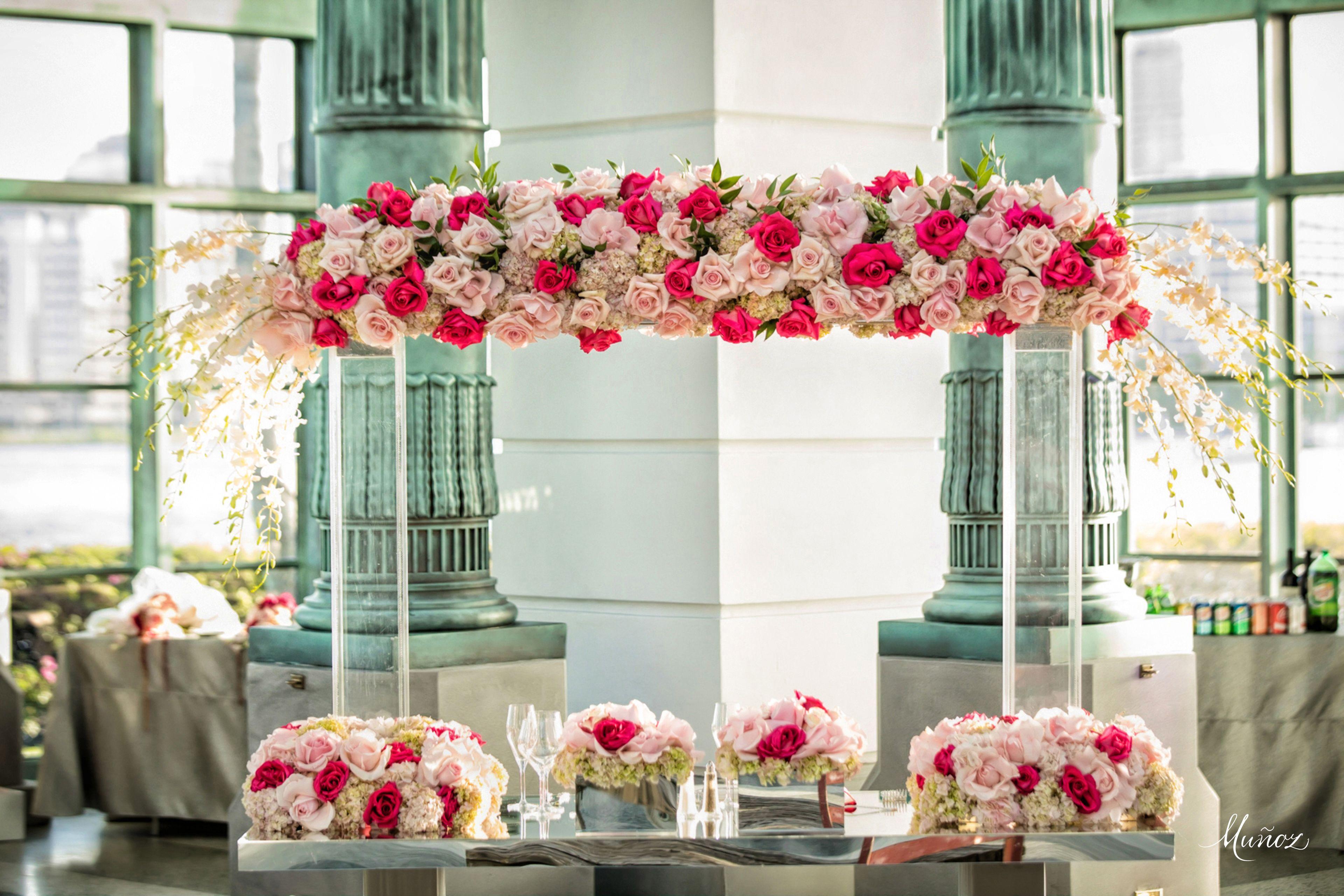 Wedding decoration ideas burgundy  Xquisite Events South Floridaus Premiere Event Decor and Production