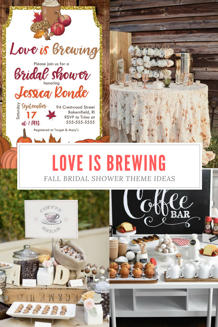 love is brewing fall bridal shower theme such a cozy idea for a fall shower loveisbrewing fallbridalshower bridalshowertheme