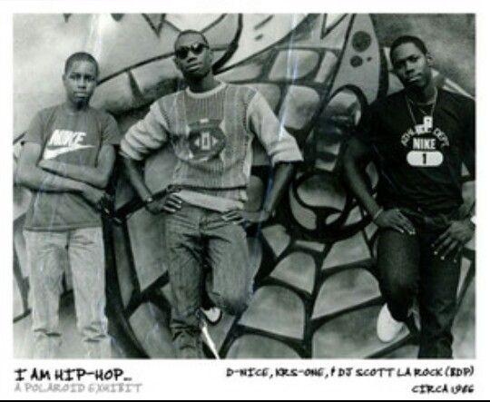 DNice, KRSONE & DJ Scott La Rock Boogie down