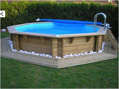 Piscineboissemienterréemjpg PISCINA MORE - Installation piscine bois semi enterree