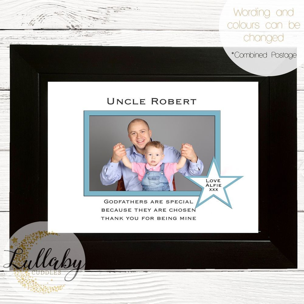 Personalised godfather godparent photo frame gift 9x7 any wording personalised godfather godparent photo frame gift 9x7 any wording jeuxipadfo Image collections